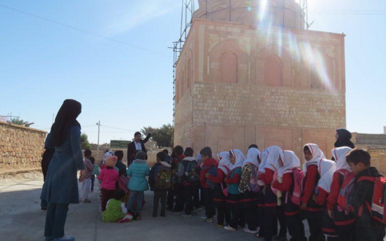 بازدید از مسجد جامع خنج